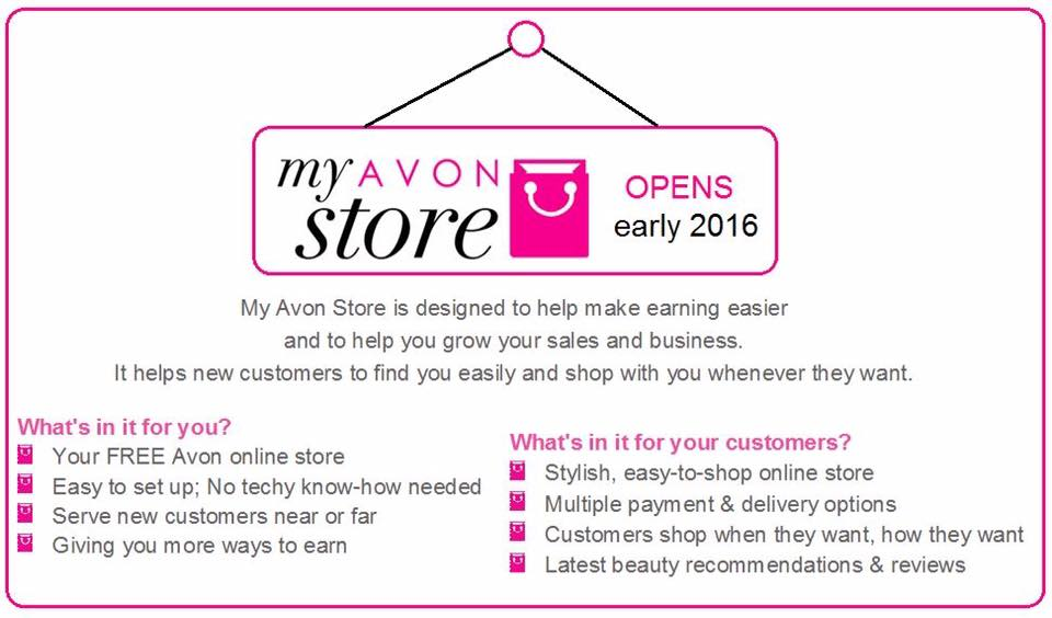Avon Online Stores - the launch! | Join Avon