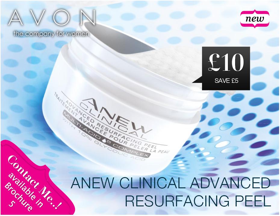 Avon Anew resurfacing peel