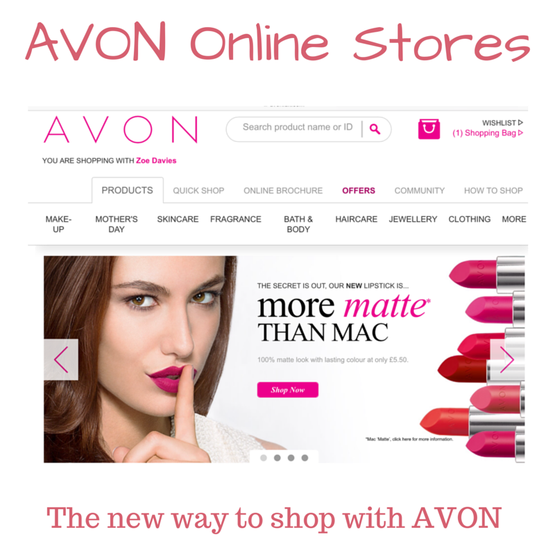 top tips to shopping the avon online store join avon. Black Bedroom Furniture Sets. Home Design Ideas