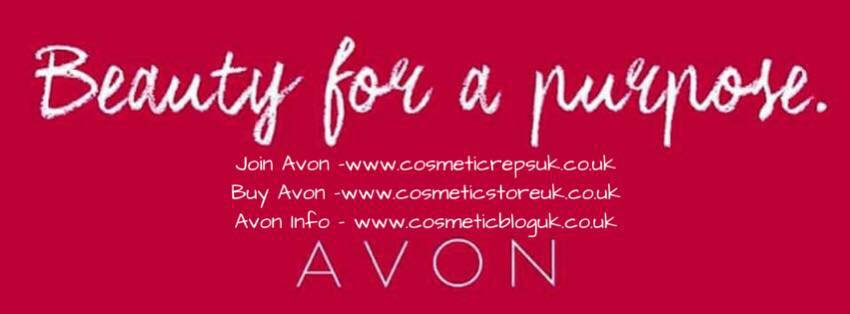 Avon beauty for a purpose