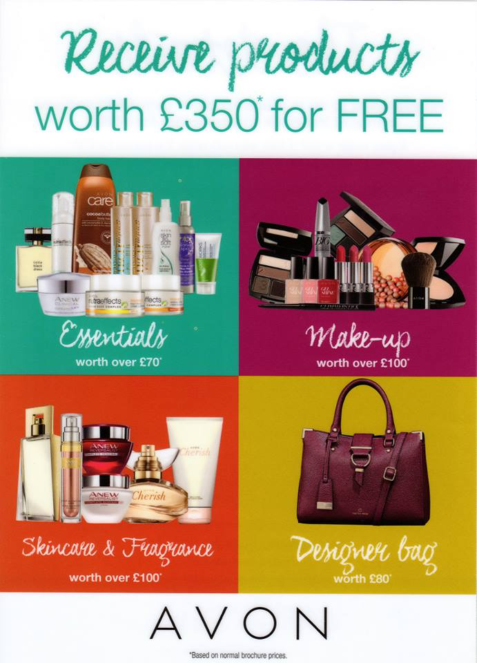 AVON Product Pack - £350 in products free!! | Join Avon