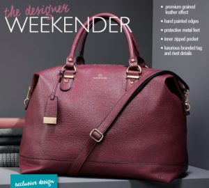Avon Tabitha Webb weekender bag