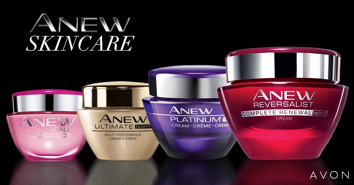 Avon Anew Skincare - 25 Years of Pioneering Anti-Ageing Skincare | Join Avon