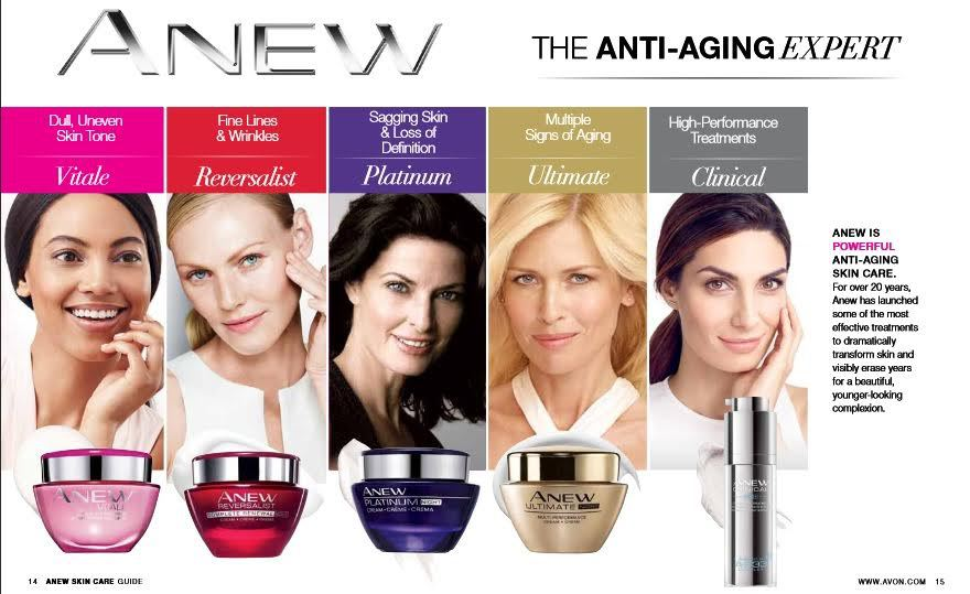 avon anew skincare 25 years of pioneering anti ageing. Black Bedroom Furniture Sets. Home Design Ideas