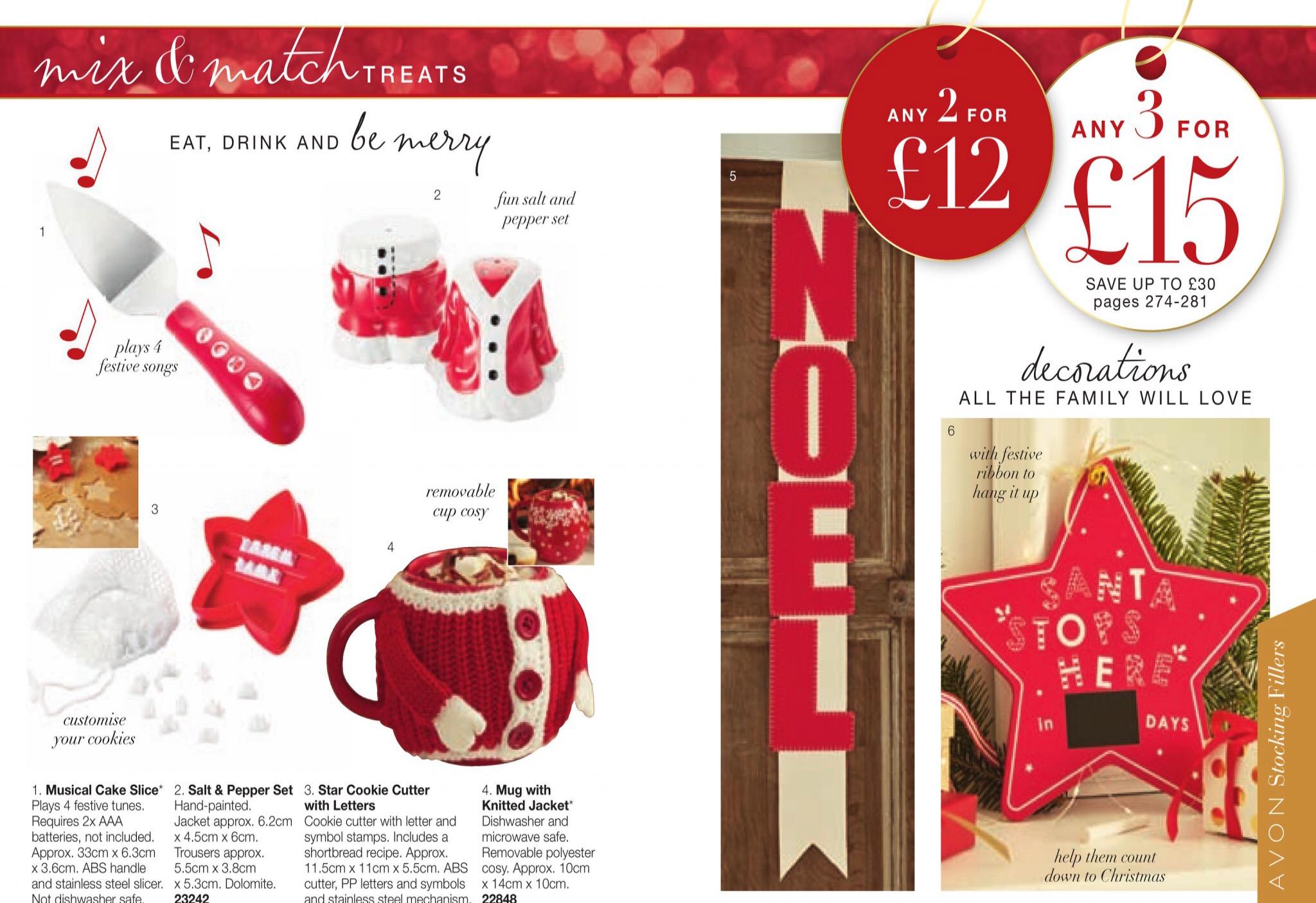 catalogue avon noel 2018 Highlights from Avon Christmas Brochure 1   2017 | Join Avon catalogue avon noel 2018