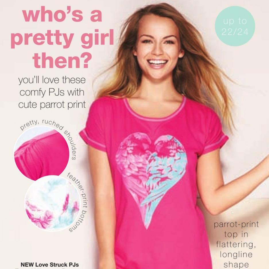 Avon Valentines Day Pyjamas