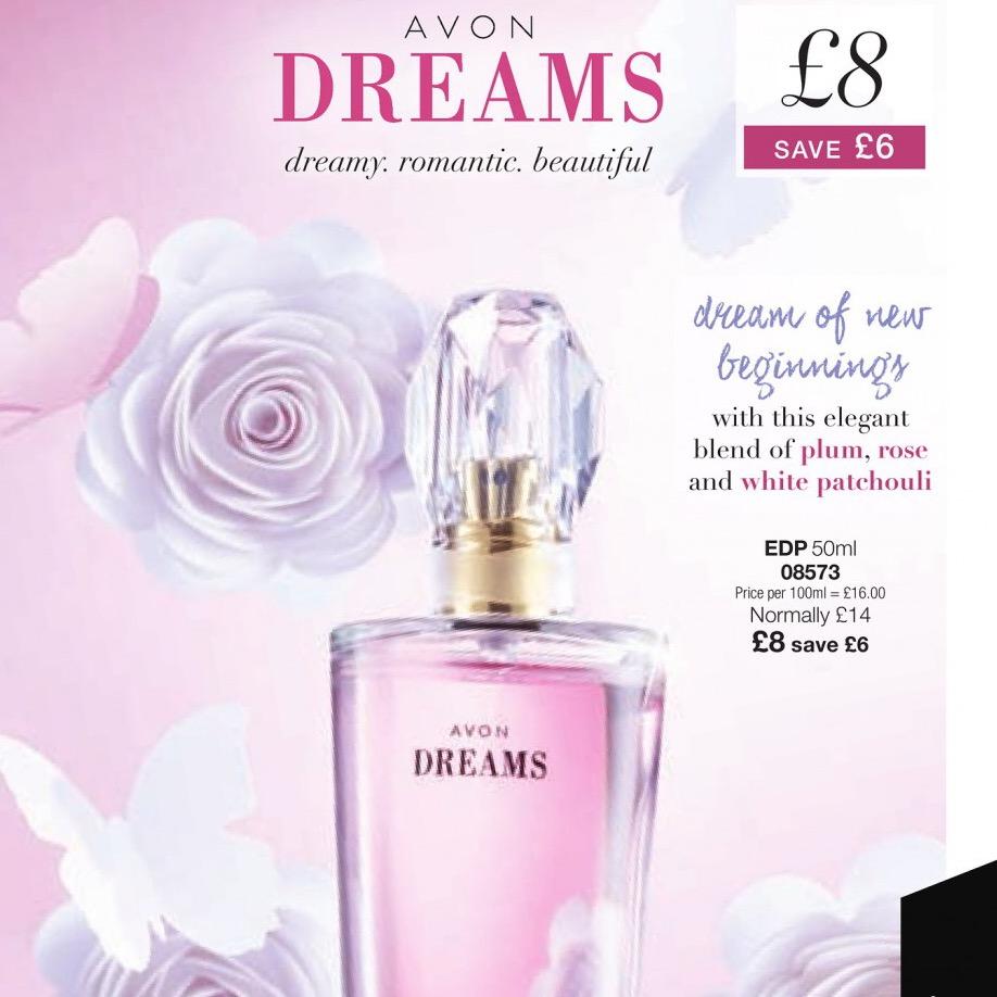 Valentines Day Avon Dreams Perfume