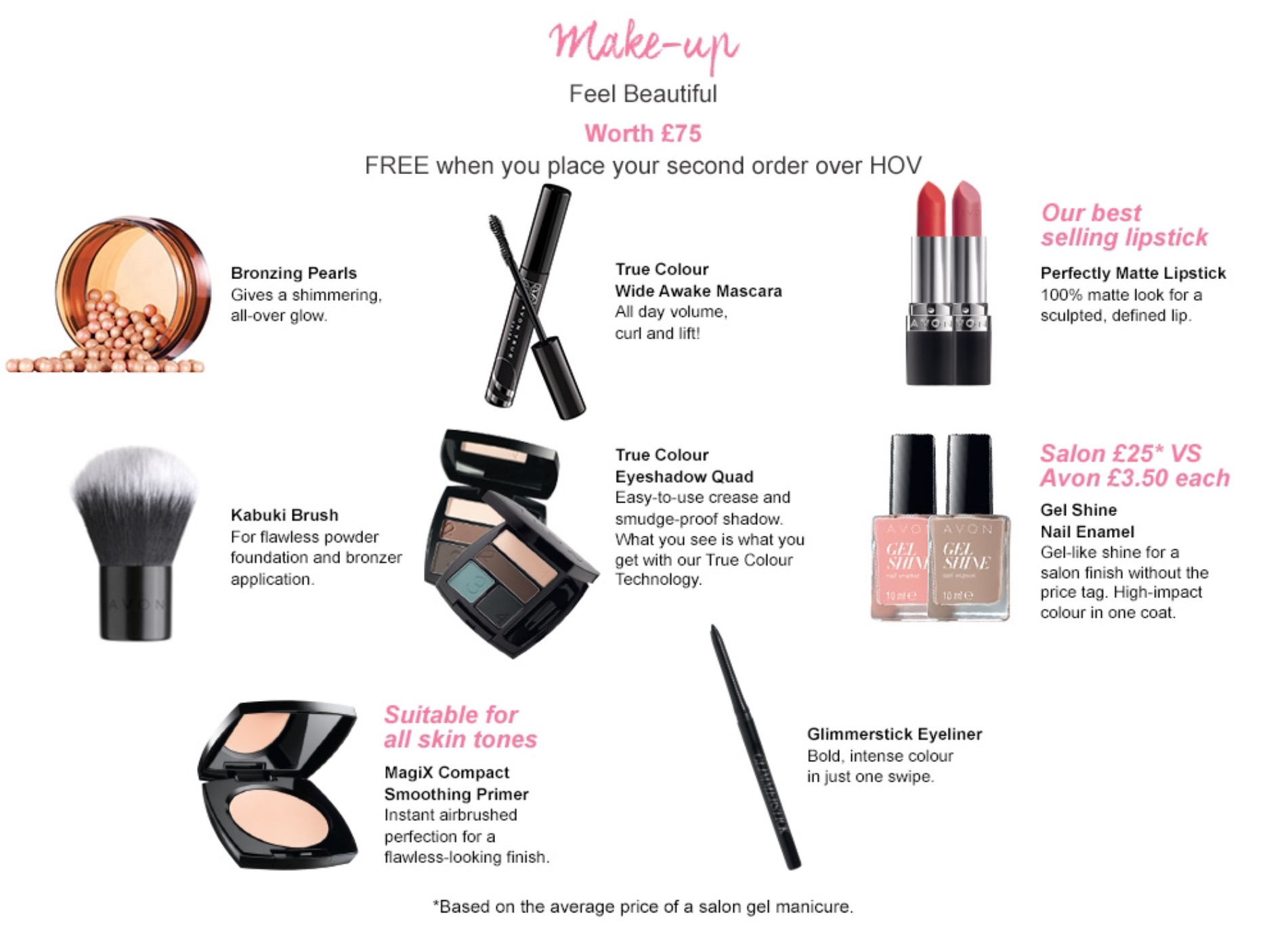 Avon £300 Product Pack