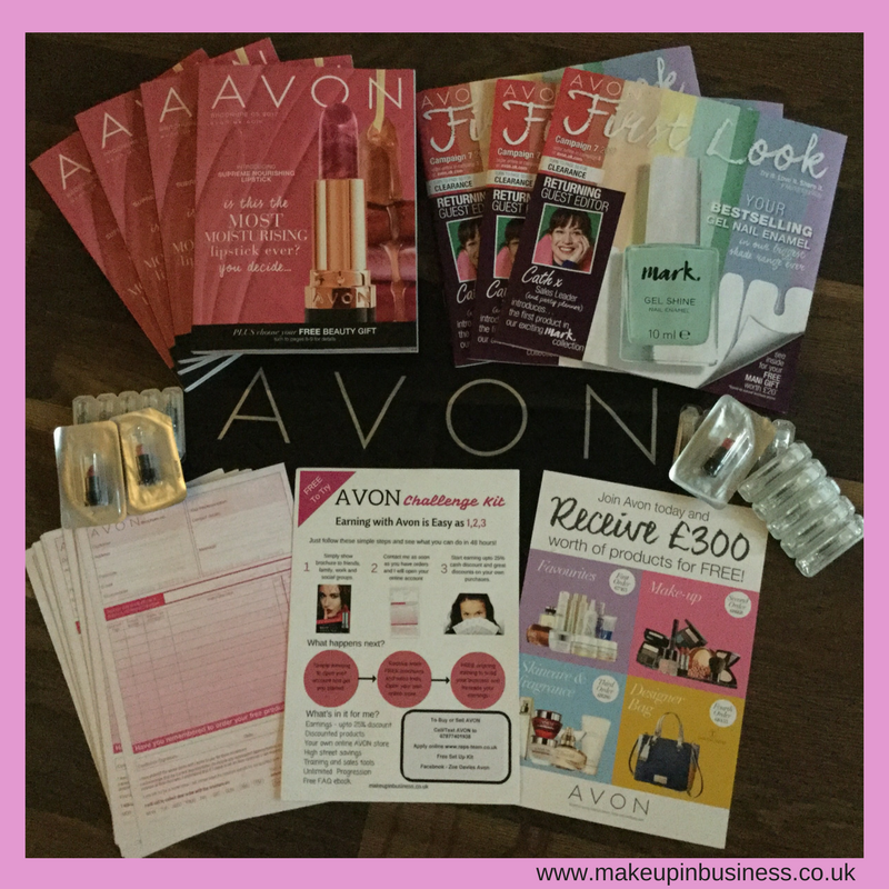 Avon £300 Product Pack for New Representatives