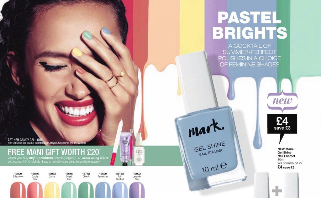 Avon Campaign 7 2017 UK Brochure Online - Mark Gel Nails
