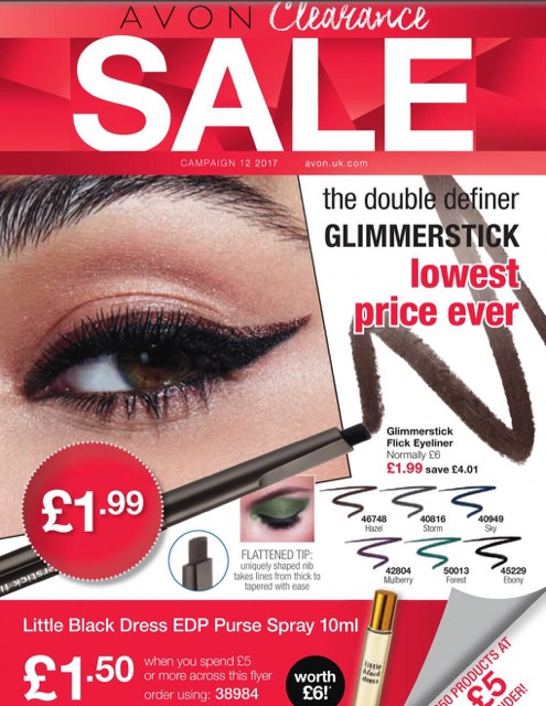 Avon Campaign 12 Sale 2017 UK Brochure Online