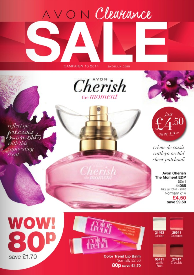 Avon Campaign 16 2017 UK Sale Brochure Online