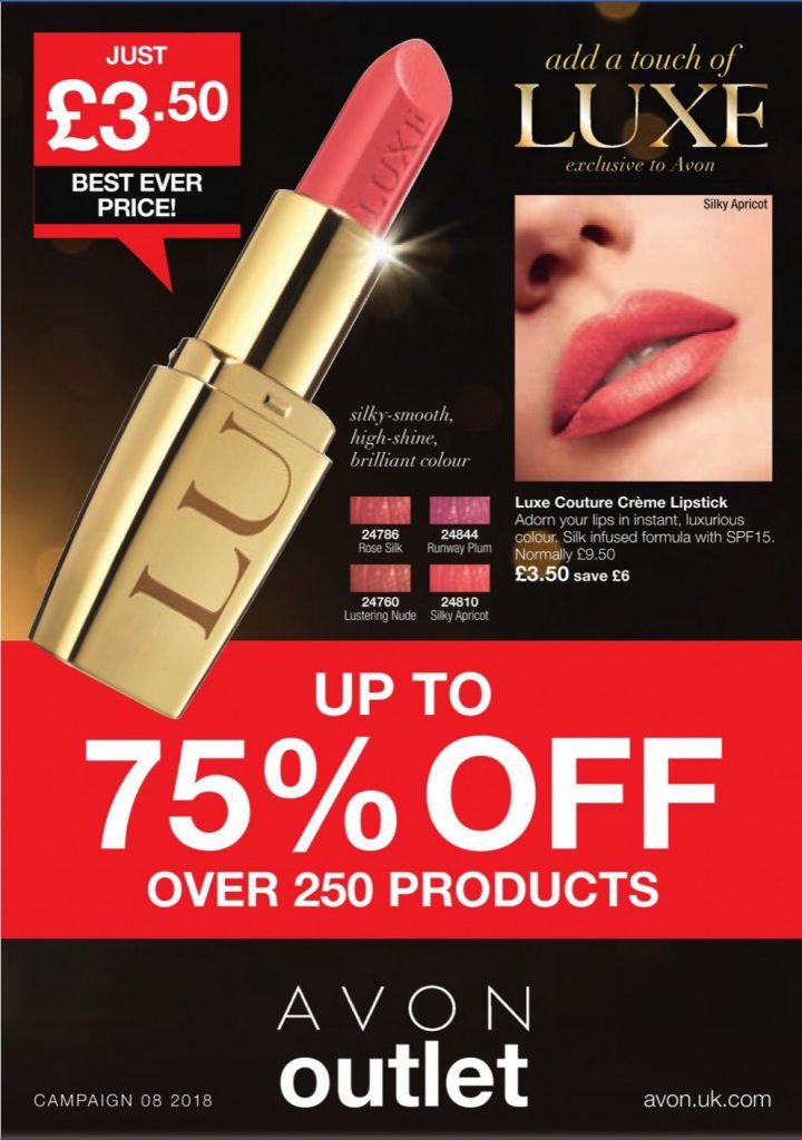 Avon Campaign 8 sale 2018 UK Brochure Online