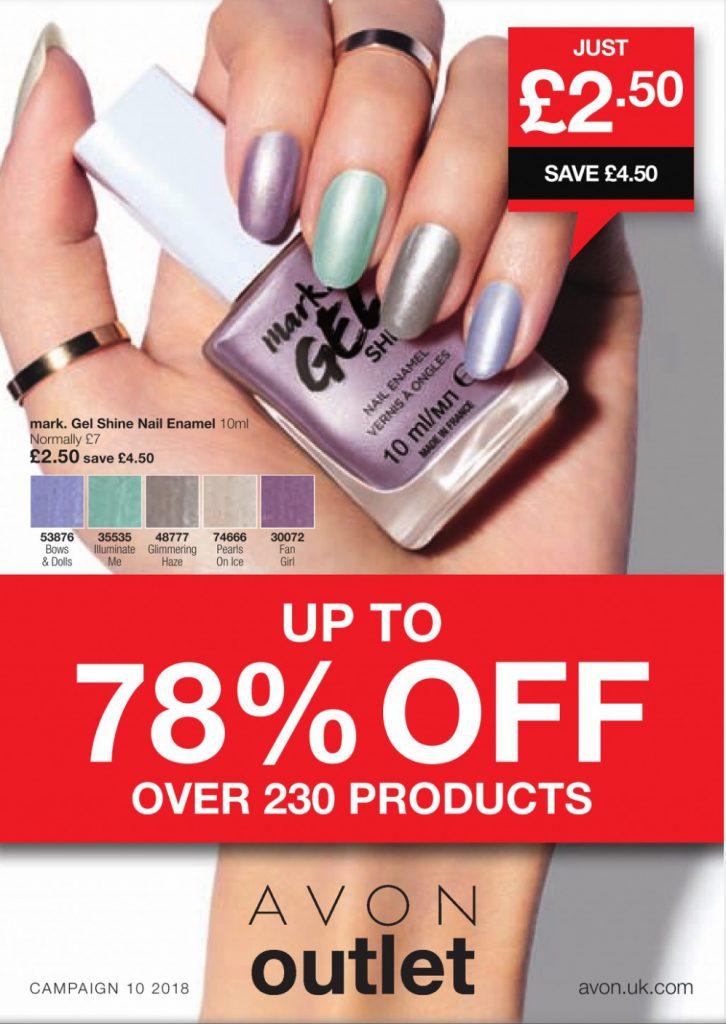 Avon Campaign 10 2018 UK Sale Brochure Online
