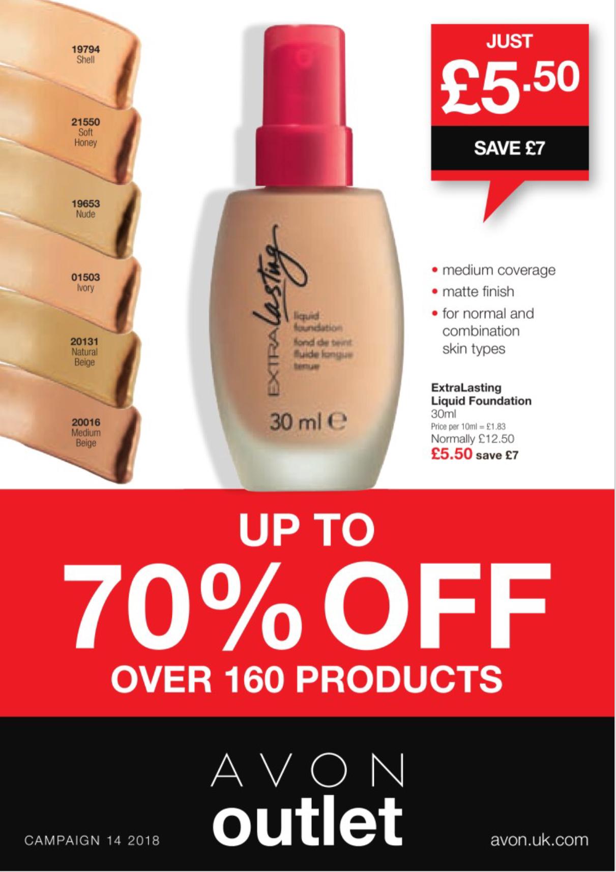 Avon Campaign 14 Sale 2018 UK Brochure Online