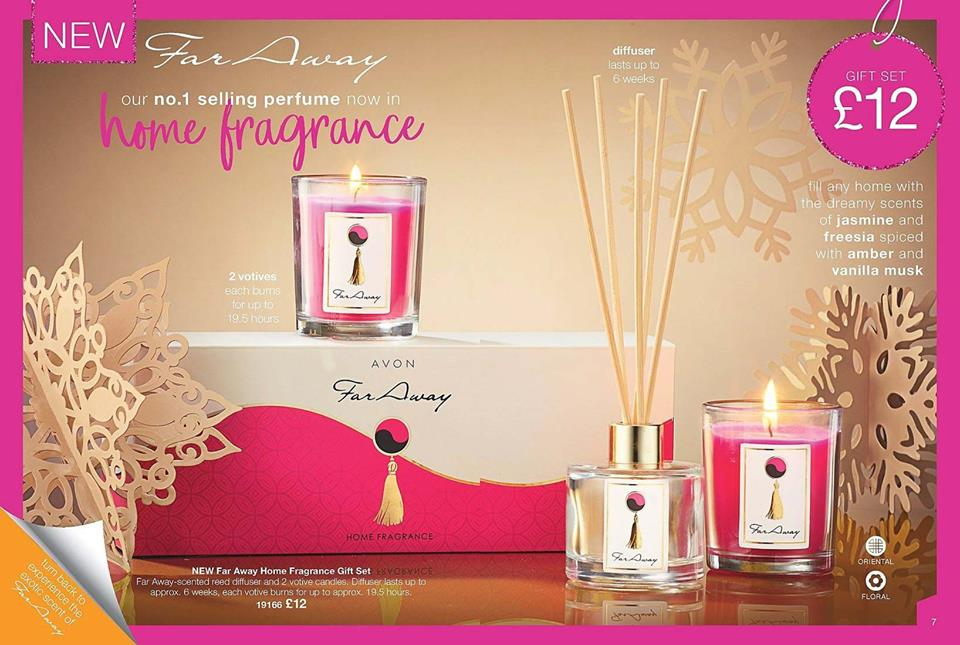 Avon Brochure 1 2019 Far Away Home Fragrance