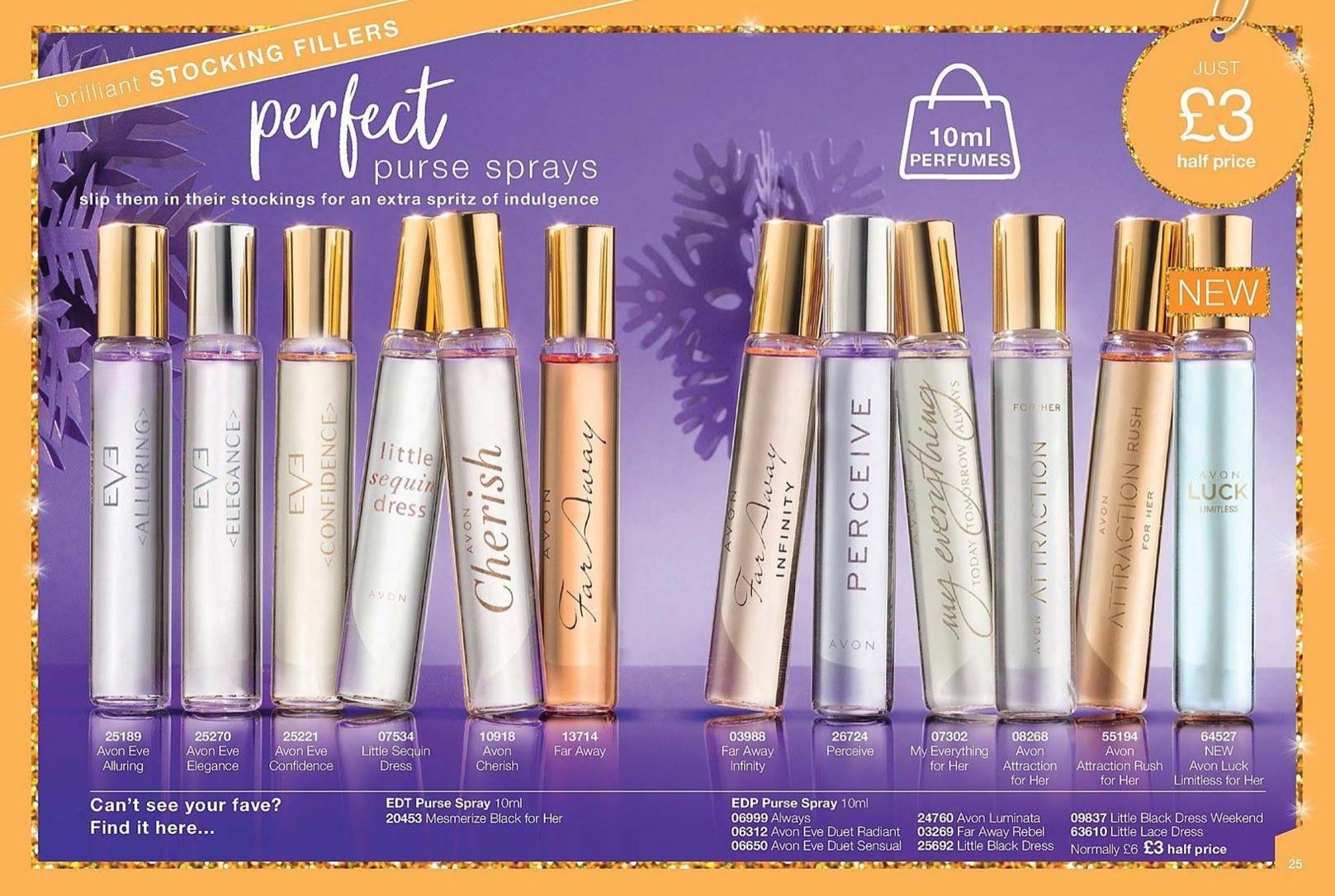 Avon UK Brochure 1 2019 Perfume and Fragrances
