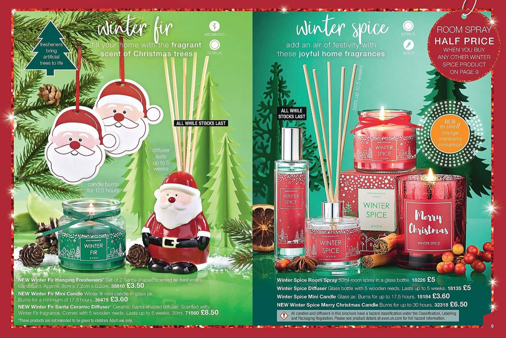 Avon Uk Brochure 1 2019 Christmas Candles