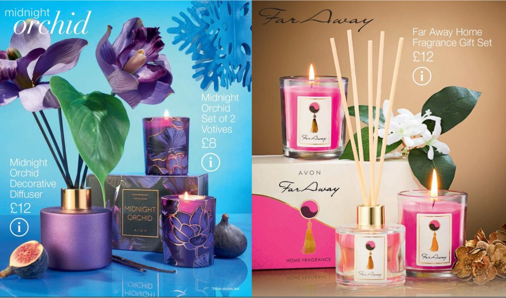 Avon Campaign 2 2019 UK Brochure Online - Far away and midnight orchid home fragrance