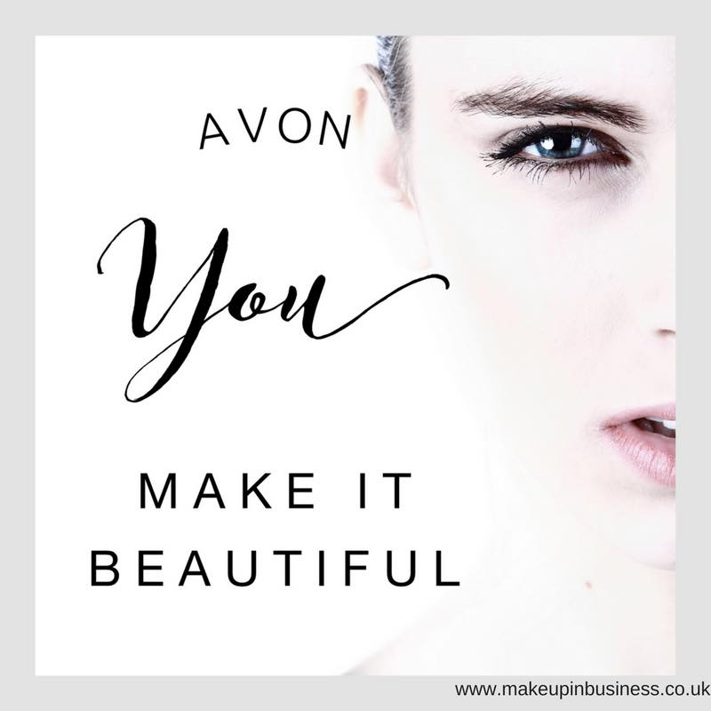 Avon - you make it beautiful quote