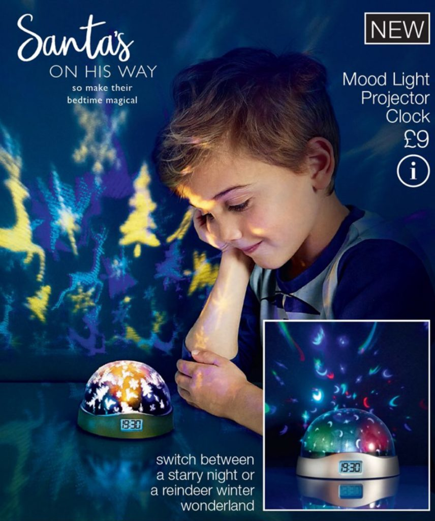 Avon Campaign 2 2019 UK Brochure Online - Mood light projector clock