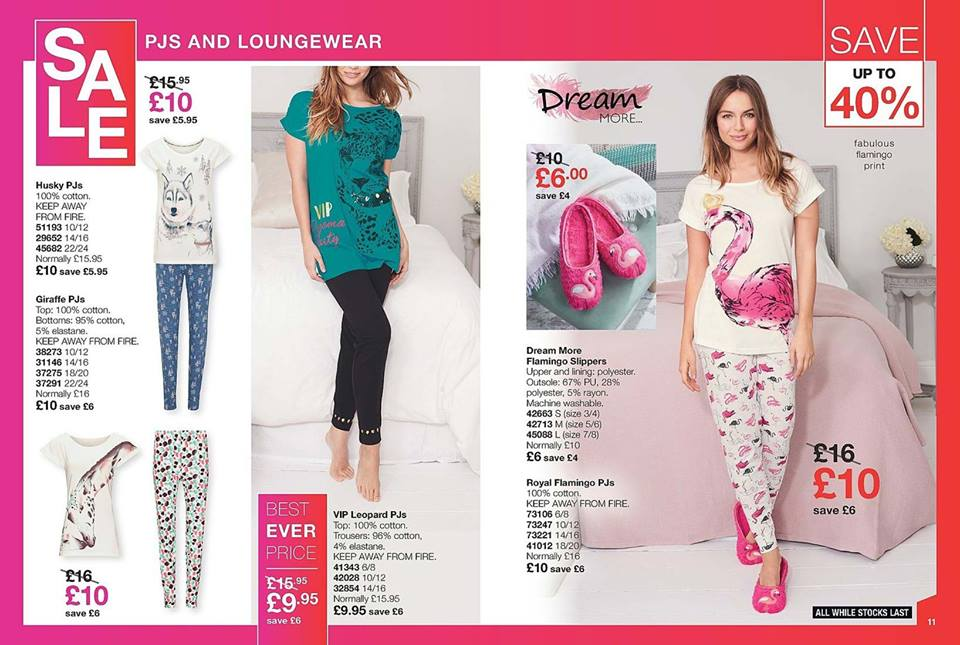 Avon Campaign 3 2019 UK Brochure Online - PJs and Loungewear sale