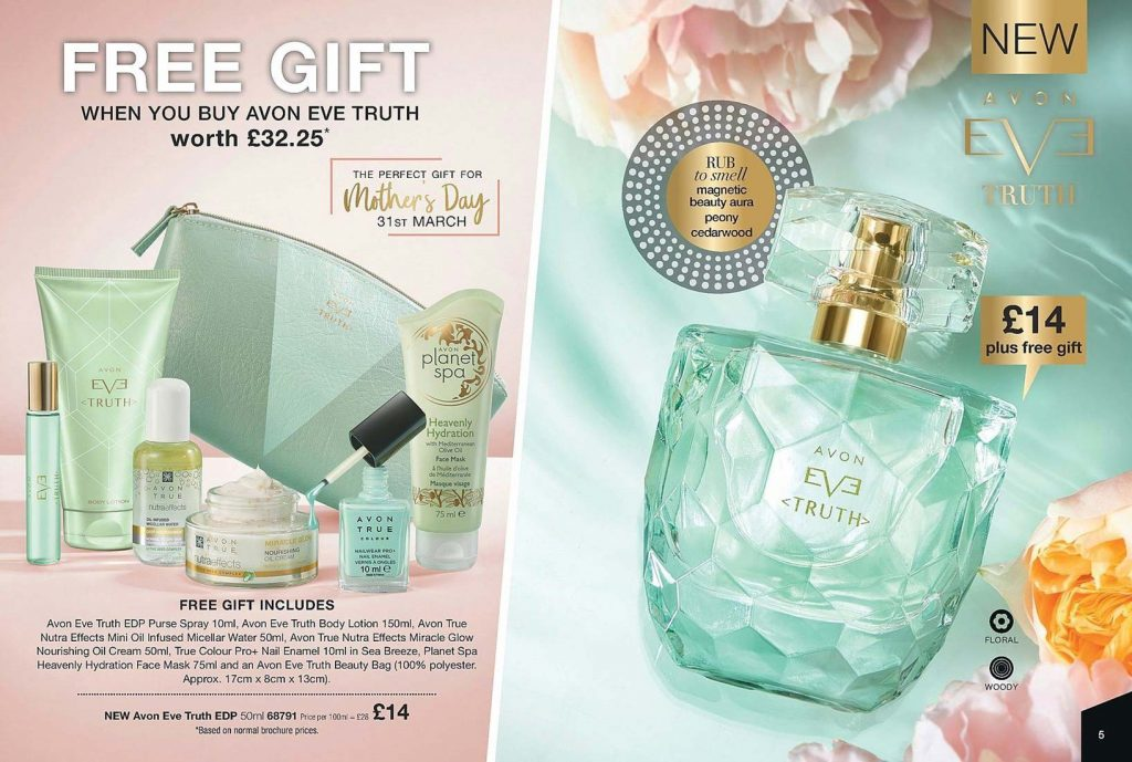 Avon Campaign 5 2019 UK Brochure Online - Avon Eve Fragrance