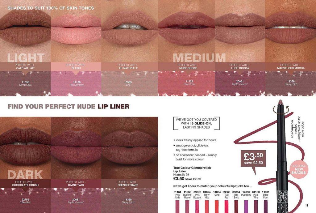 Avon Campaign 6 2019 UK Brochure Online - nude lip liner