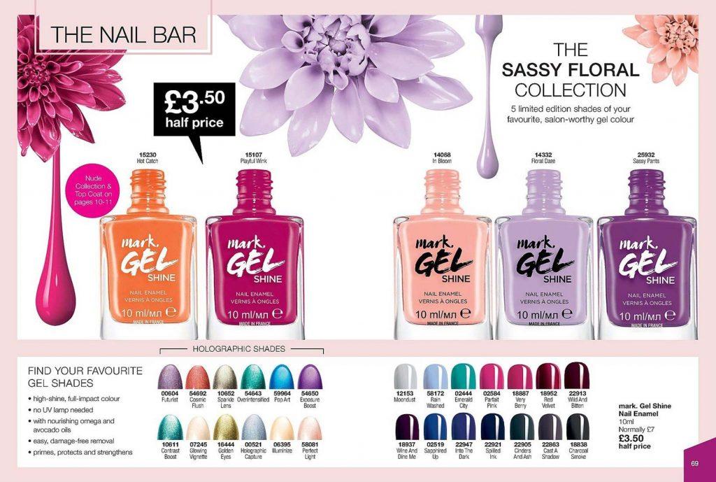 Avon Campaign 6 2019 UK Brochure Online - mark gel nails