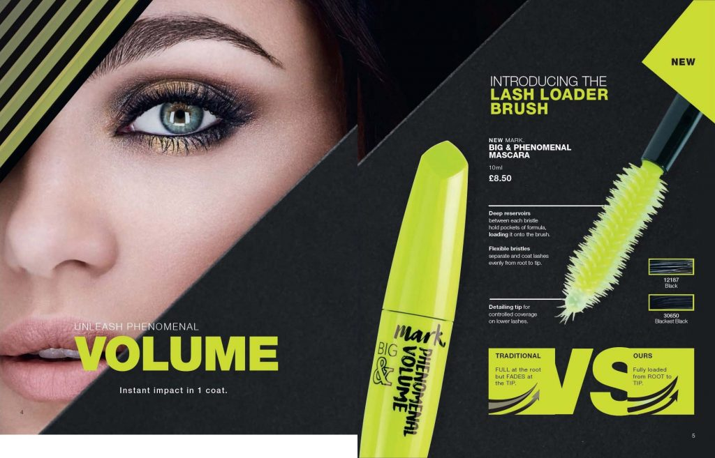 Avon Campaign 8 2019 UK Brochure Online - big and phenomenal mascara