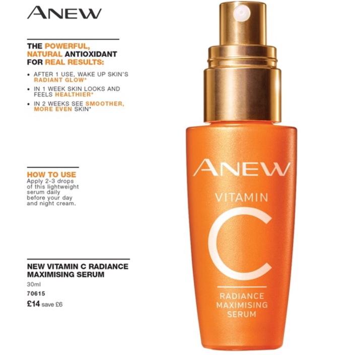 Avon Campaign 9 2019 UK Brochure Online - Anew Vitamin C serum