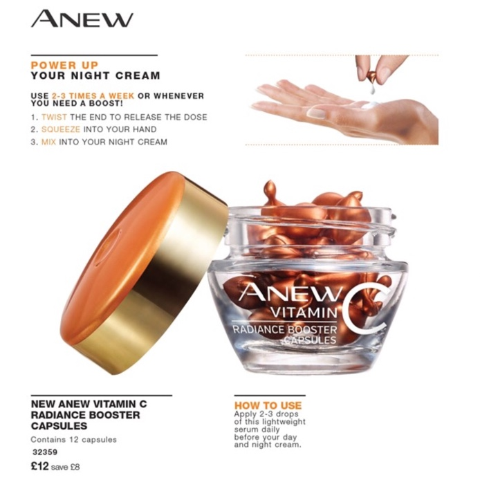 Avon Campaign 9 2019 UK Brochure Online - radiance booster capsules