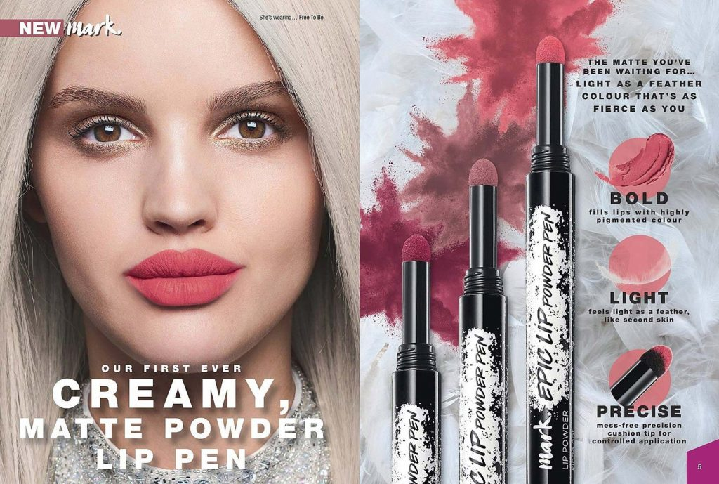 Avon Campaign 11 2019 UK Brochure Online - creamy matte powder lip pen