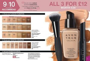 Avon Campaign 11 2019 UK Brochure Online - 3 for £12 foundation offer