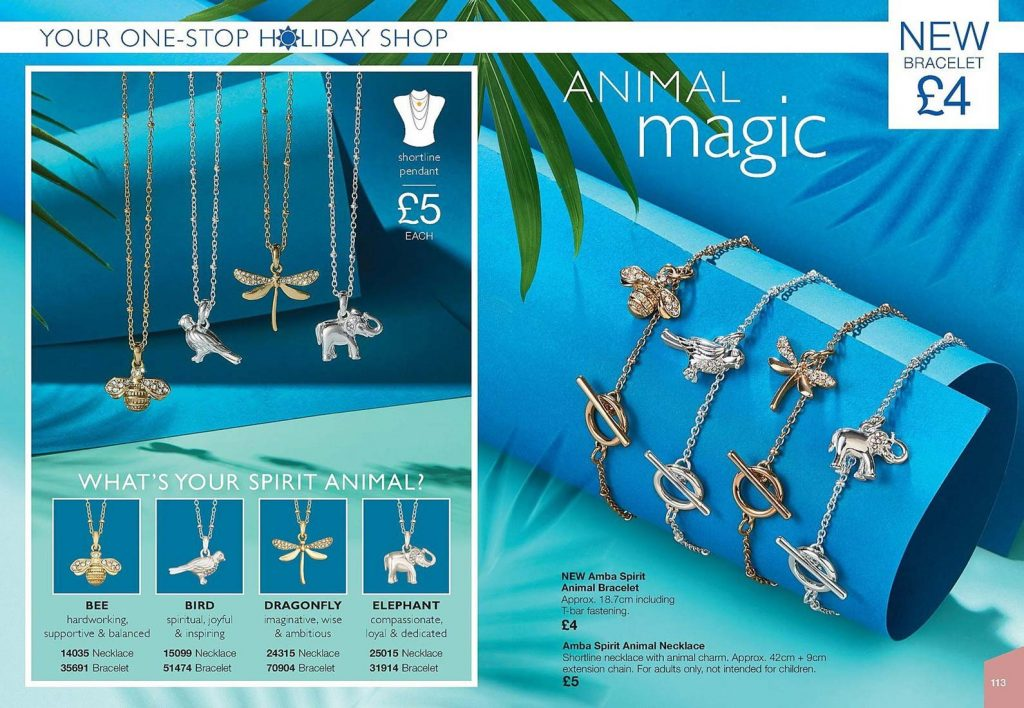 Avon Campaign 11 2019 UK Brochure Online - ambra spirit animal bracelet