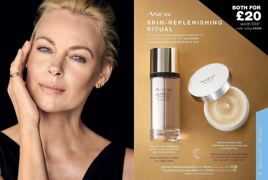 Avon Campaign 11 2019 UK Brochure Online - Anew skin replenishing ritual