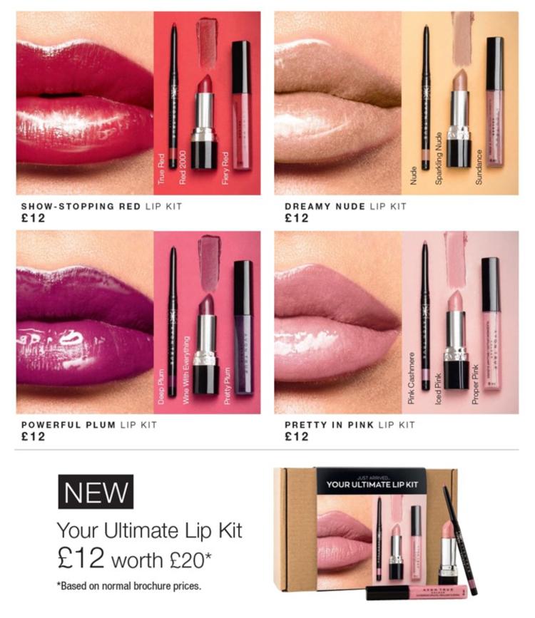 Avon Campaign 10 2019 UK Brochure Online - ultimate lip kit
