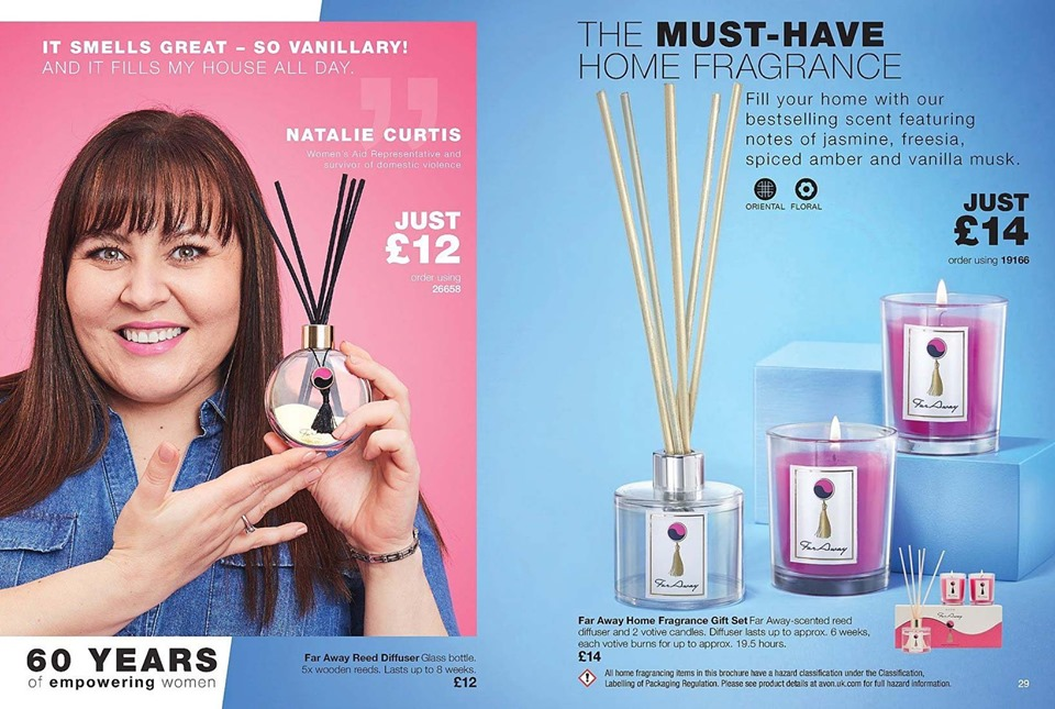 Avon Campaign 12 2019 UK Brochure Online - Far Away home fragrance