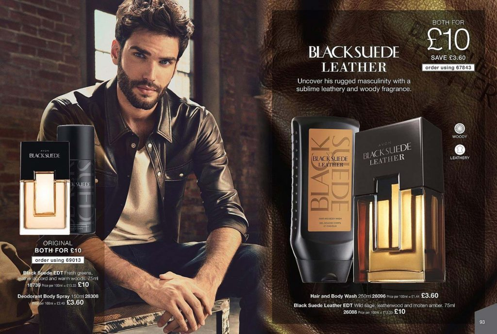 Avon Campaign 8 2019 UK Brochure Online - Black suede leather