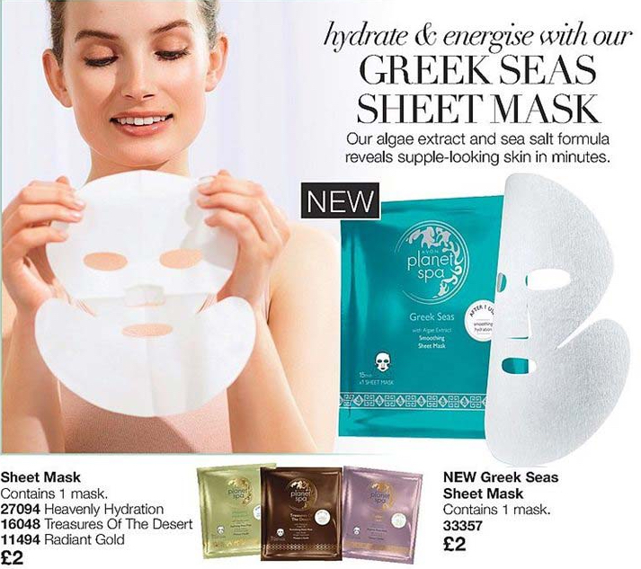 Avon Campaign 8 2019 UK Brochure Online - sheet masks