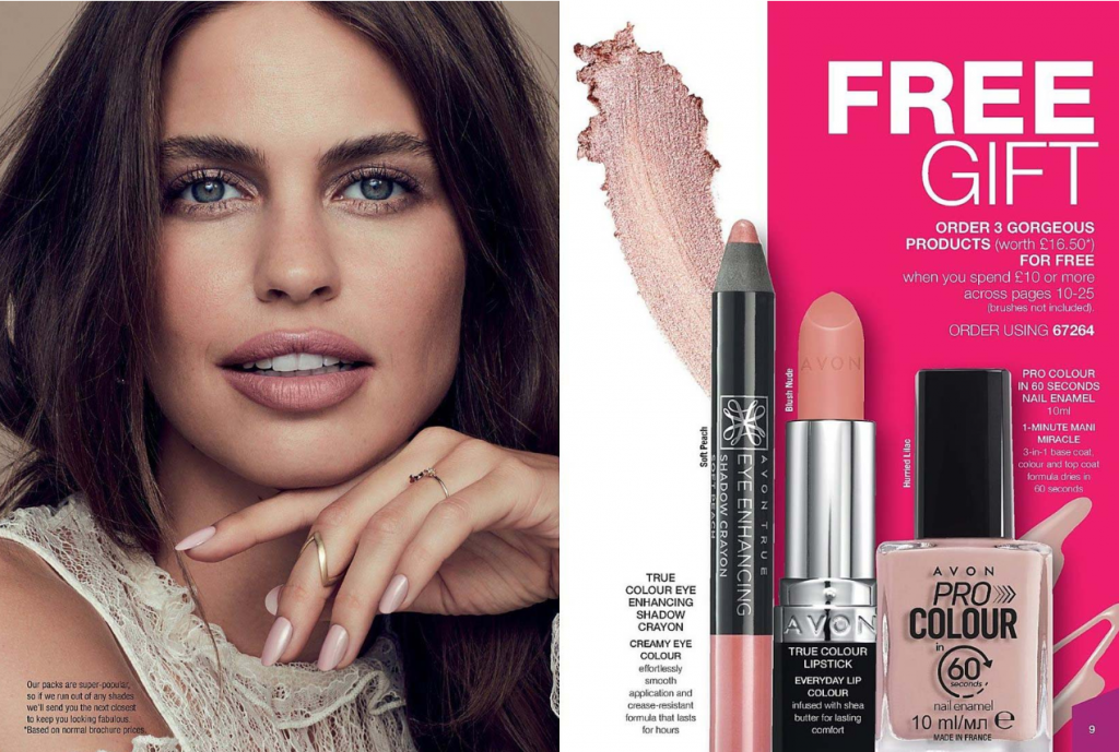Highlights of Avon Brochure 15 2019 - FREE gift with makeup