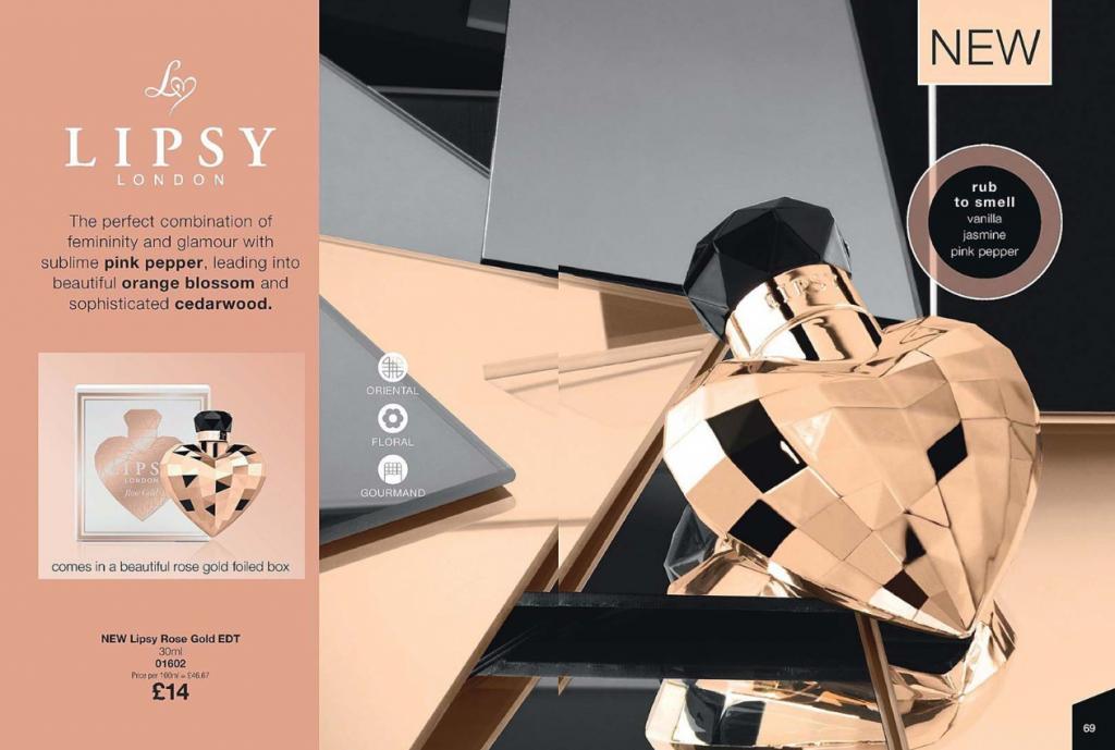 Highlights of Avon Brochure 15 2019 - NEW Lipsy rose gold perfume