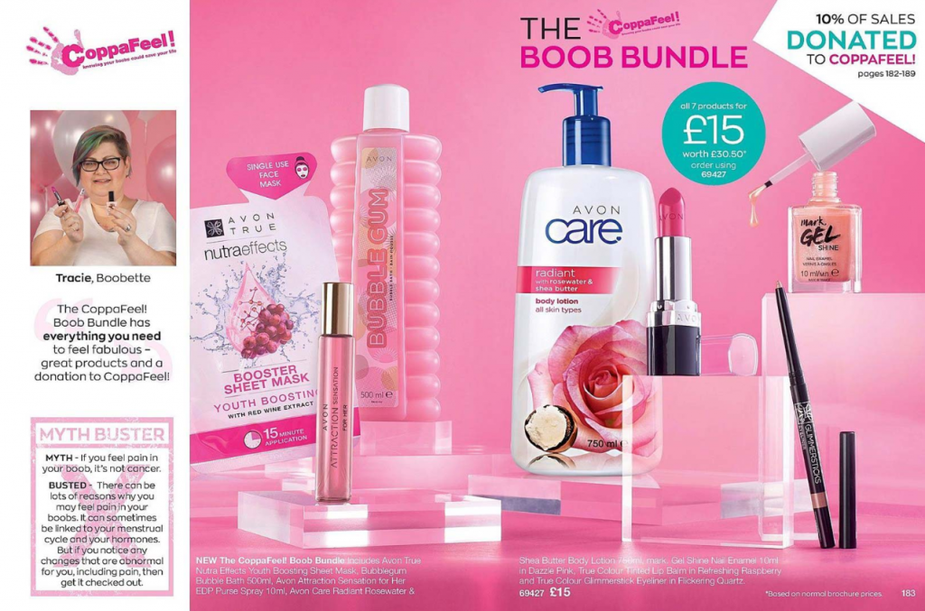 Highlights of Avon Brochure 15 2019 - Coppafeel boob bundle