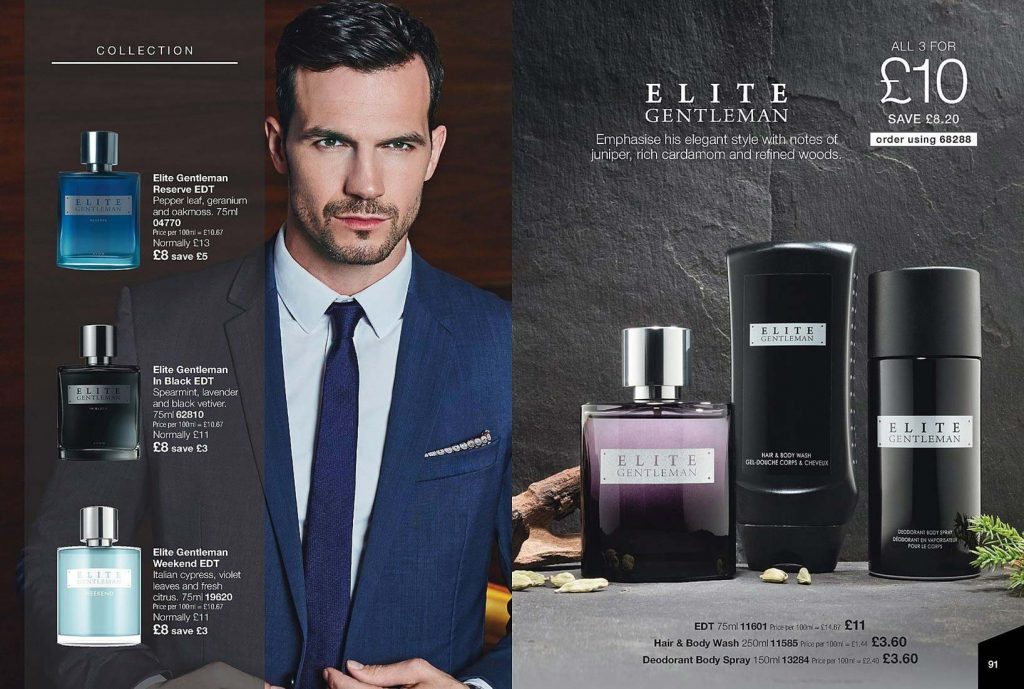 Elite Gentleman Collection from Avon