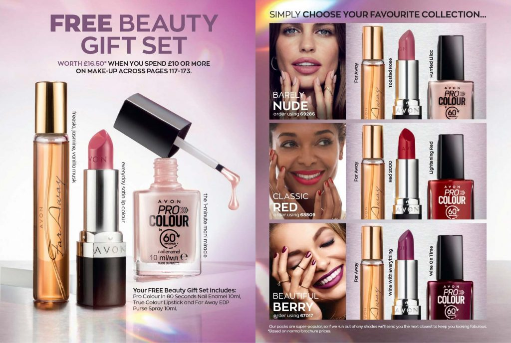 Avon Campaign 17 2019 UK Brochure Online - FREE Beauty Gift Set