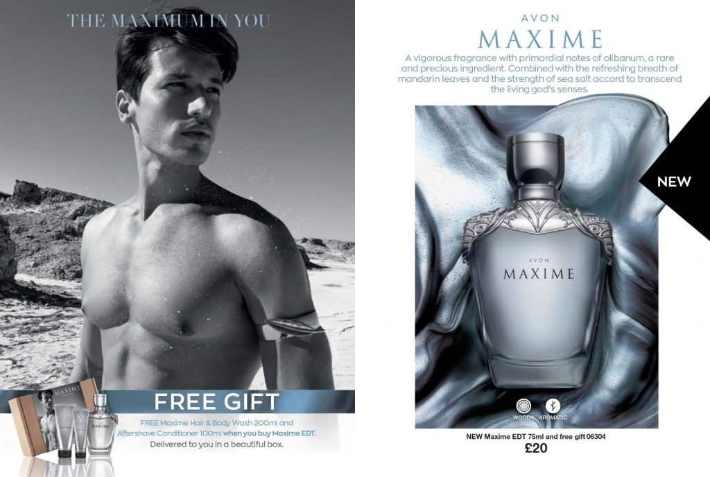 Avon Campaign 17 2019 UK Brochure Online - Maxime Aftershave