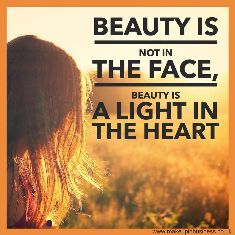 Beauty is not in the face, beauty is a light in the heart - quote