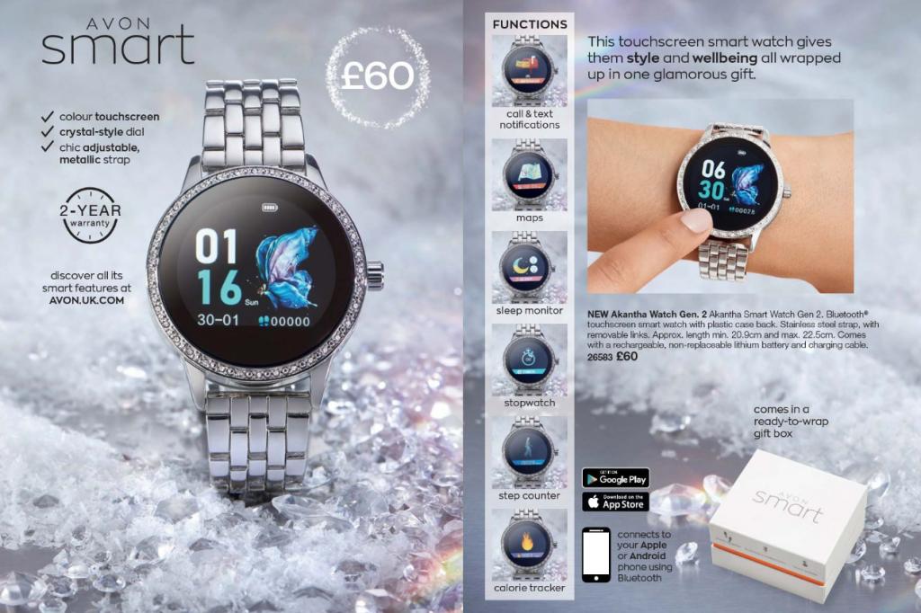 Avon Campaign 17 2019 UK Brochure Online - Smart Watch