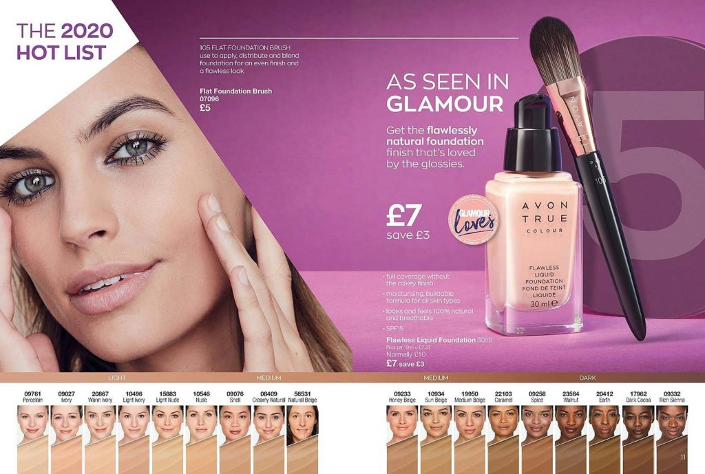 Avon Campaign 3 2020 UK Brochure Online - flawless liquid foundation