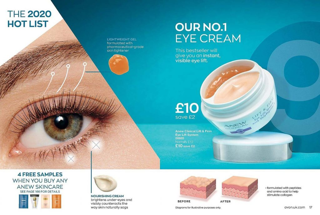 Avon Campaign 3 2020 UK Brochure Online - anew dual eye lift